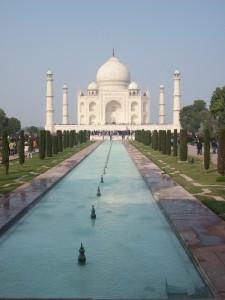 le Taj Mahal en Inde haut lieu culturel