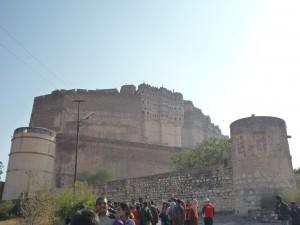 8 le fort de Mehrangarh