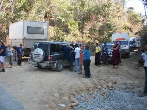 Myanmar sur la route