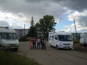 sur la route de Krasnoyarsk