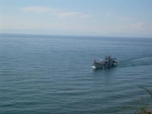 Lisvianka au sud ouest du Baïkal