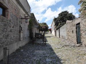 Colonia de Sacramento l'entrée de la vieille ville et ses petites ruelles