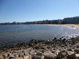 Monte Vidéo la plage