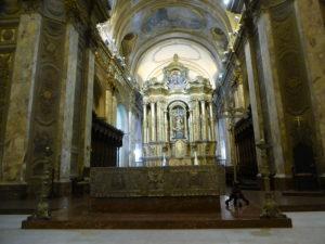 Buenos Aires L'intérieur de la cathédrale