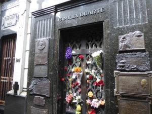 uenos Aires le mausolée d'Eva Perón