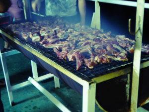 Rio : soirée barbecue