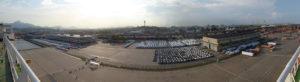 escale au port de Zarate en Argentine