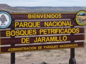 Jaramillo   l'entrée du site