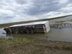 ce camion a mal fini sa vie