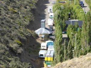 Le Camping près du Rio Gallegos