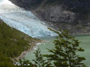 Le glacier Serrano