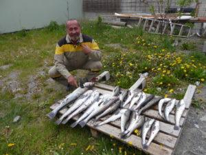 Super pêche pour Robert