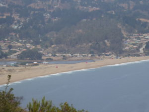 La plage de Laguna Verde