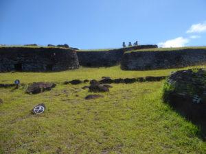 Les maisons des premiers habitants de l'île