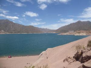 petit arrêt au lac Lujan