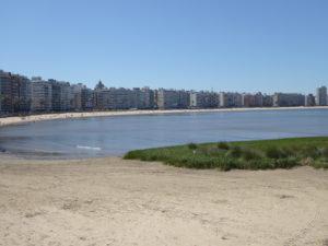 La grande plage de Monte Video