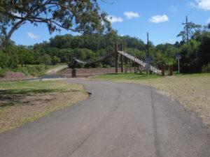 Le pont suspendu à la vallée del Eden