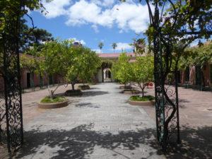 Patio d'entrée au Palacio