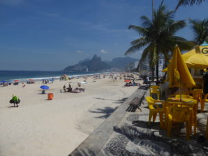 la plage Ipanema