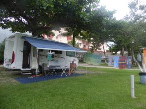 au camping de Boraceia