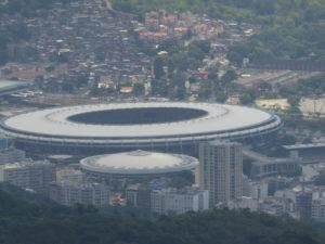 Maracana le stade de Rio connu de beaucoup d'amateurs de foot