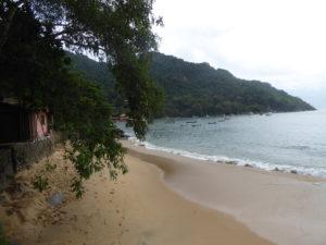 Plage de Picinguaba sur la Costa