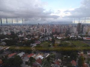 vue sur la ville de la tour panoramique