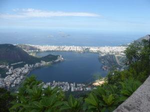 Vue sur la baie de Rio