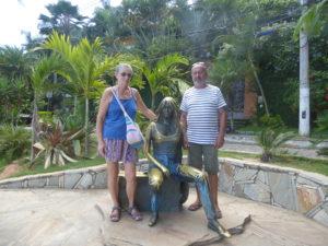 statue de Brigitte Bardot à Buzios