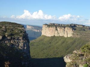 vue sur les plateaux du sommet Morro do Pal Inácio