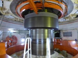 un des 20 générateurs de 1760 tonnes