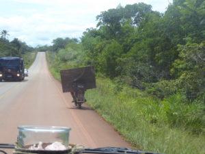 Transport à moto