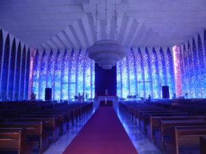 intérieur du sanctuaire Don Bosco