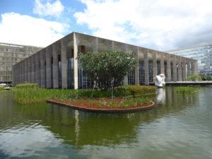 le palais Itamaraty