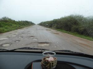 Que de trous sur la route