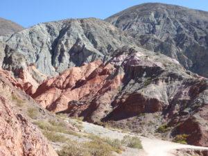 Purmamarca , le chemin des 7 couleurs