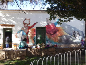 fresque à Humahuaca