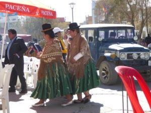 Tenue bolivienne
