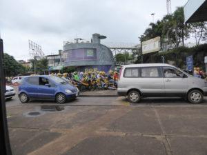 les motos taxi à la frontière