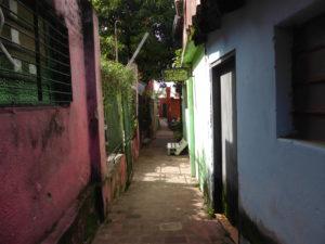 Les petites ruelles du vieux quartier