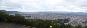 La vue de Salta du cerro Bernardo