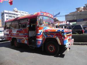 un bus à Cochabamba