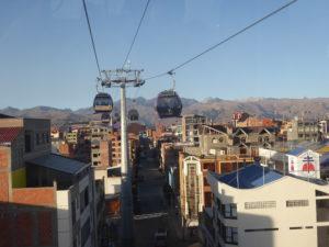 Vue du Périphérique sur El Alto