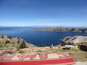 vue sur le lac du restaurant