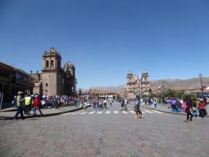 La place des armes à Cusco