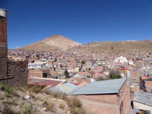 Vue sur la ville de Potosi