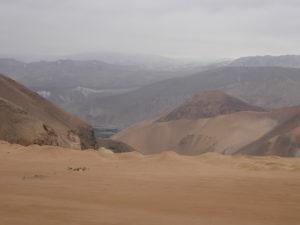 paysage sur la route vers Aréquipa