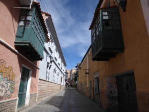 Une rue à Potosi
