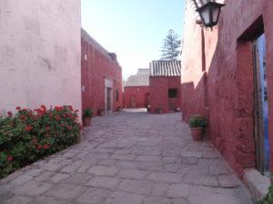 une rue du monastère