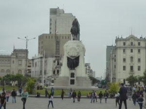 dans le centre de Lima